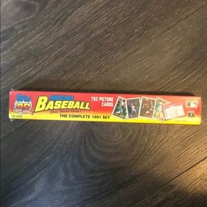 1991 (Complete Set) Topps Micro Baseball Cards